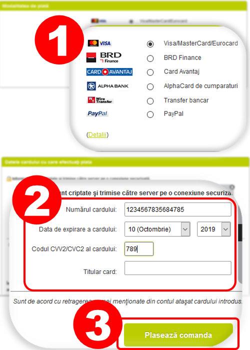 Plata card online rapidauto, , plata rate rapidauto